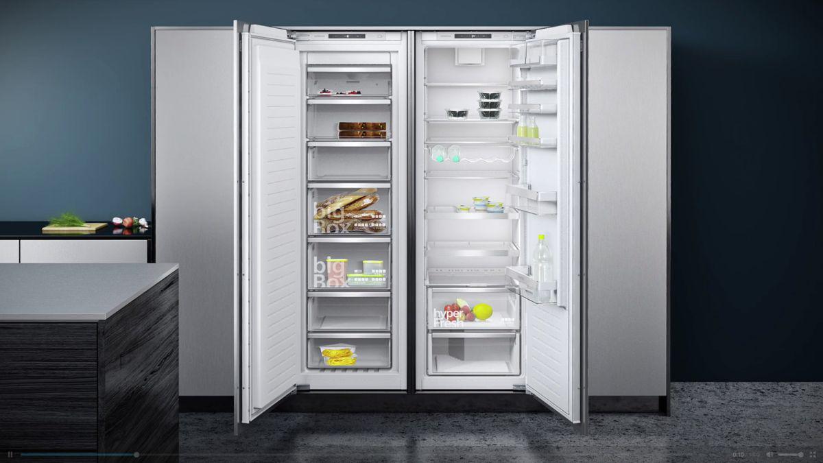 Kühlschrank Ohne Gefrierfach Siemens : Modularfit von siemens küchenlab hamburg